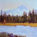 Norma Holmes - Land Escapes, A Solo Show, Black Butte Ranch Lodge Gallery
