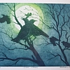 "Eight Crows by William Rogers  ~ 8"" x 10"""