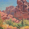 "Camelback by William Rogers Oil ~ 11"" x 14"""