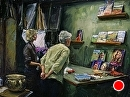 """The Studio Visit"" by Tracey Frugoli Oil ~ 18 x 24"