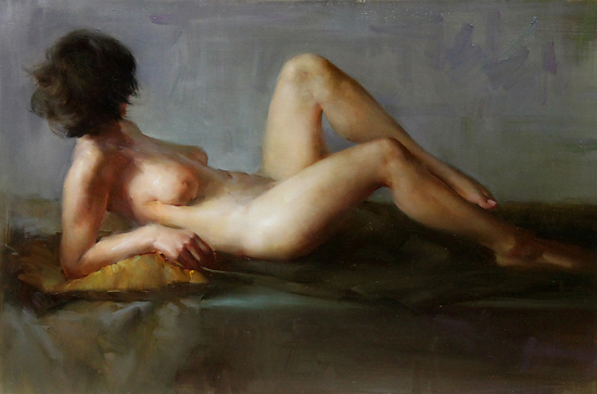 by Fongwei Liu Oil ~ 20 x 30