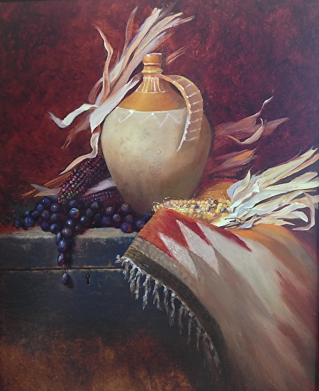 Ancient Treasure - Oil
