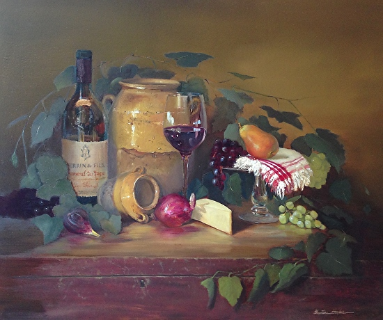 French Feast, Confit - Oil