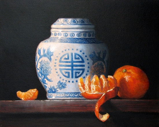 Ginger Jar & Tangerines - Oil