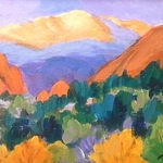 """Laura Reilly - """"Morning, Noon and Night in Garden of the Gods"""""""