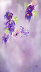 Cascading Orchids by Colleen Taylor