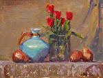"""Tulips & Pears by Mark Farina  ~ 11"""" x 14"""""""
