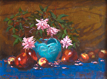 "Wild Roses by Mark Farina Oil ~ 12"" x 16"""