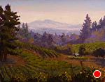 "Sonoma Mountian Vista by Mark Farina Oil ~ 16"" x 20"