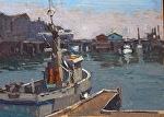 "The Rendevouz Monterey by Mark Farina Oil ~ 9"" x 12"""