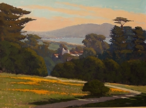 Local  Landscape Oil Paintings - Monterey/Carmel