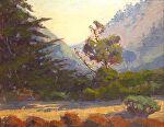 "Looking Up Lobos Northĥ by Mark Farina Oil ~ 11"" x 14"""