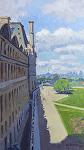"""La Louvre by Mark Farina Oil ~ 16"""" x 9"""""""