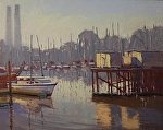 "Moss Landing Loading Docks by Mark Farina  ~ 16"" x 20"""