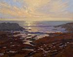"Weston Cove - Point Lobos Reserve - California by Mark Farina Oil ~ 16"" x 20"""