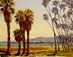 "Santa Barbara Riviera by Mark Farina Oil ~ 11"" x 14"""