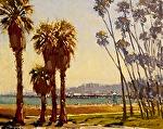 """Santa Barbara Riviera by Mark Farina Oil ~ 11"""" x 14"""""""