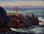 "Point Lobos - China Cove Entrance by Mark Farina  ~ 11"" x 14"""