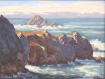 """Point Lobos - China Cove Entrance by Mark Farina  ~ 11"""" x 14"""""""