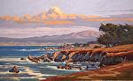 """Monterey Bay - Hopkins Point II by Mark Farina  ~ 30"""" x 48"""""""