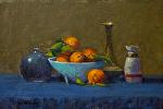 "Mandarins by Mark Farina Oil ~ 10"" x 15"""