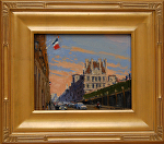 "Rue de Rivoli by Mark Farina Oil ~ 8"" x 10"""