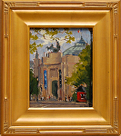 "Le Grand Palais - Portal by Mark Farina Oil ~ 10"" x 8"""