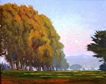 """Moonrise Over Monterey by Mark Farina  ~ 16"""" x 20"""""""