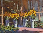 """Sunflowers Earthbound Farms by Mark Farina  ~ 8"""" x 10"""""""