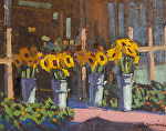 "Sunflowers Earthbound Farms by Mark Farina  ~ 8"" x 10"""