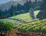 """Jack London Vinyards - Glenn Ellen by Mark Farina  ~ 11"""" x 14"""""""