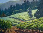 "Jack London Vinyards - Glenn Ellen by Mark Farina  ~ 11"" x 14"""