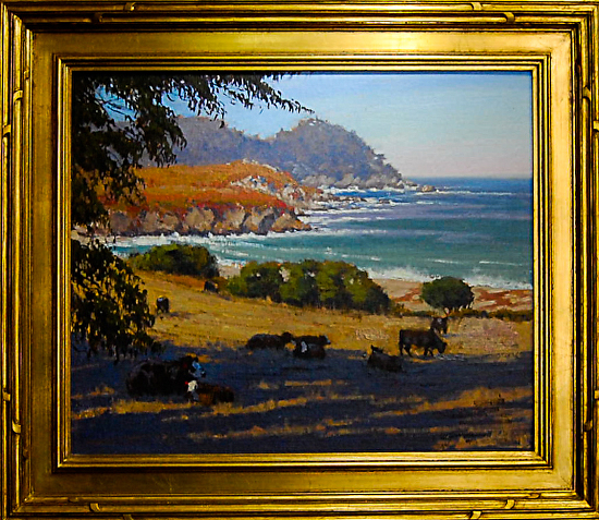 PastureWithAView20x24Framed (1 of 1) -