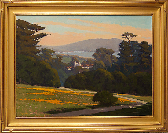 Mission Trail Vista - oil