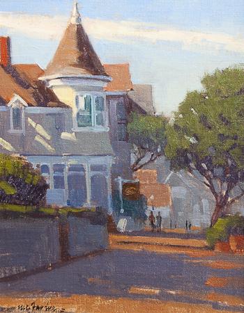 Pacific Grove  - Grove Victorian Gosby House B&B - Oil