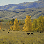 Autumn Pasture by Keith Bond Oil ~ 20 x 20