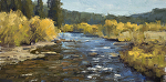 Study for Autumn Flow by Keith Bond Oil ~ 6 x 12