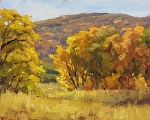 Oaks and Maples by Keith Bond Oil ~ 8 x 10