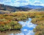Grizzly Creek by Keith Bond Oil ~ 8 x 10