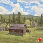 Buckhorn Barn by Keith Bond Oil ~ 10 x 10
