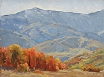 Ben Lomond in Autumn by Keith Bond Oil ~ 9 x 12