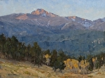 Morning Light on Longs Peak by Keith Bond Oil ~ 16 x 12