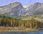 Sprague Lake by Keith Bond Oil ~ 8 x 10