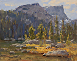Dream Lake by Keith Bond Oil ~ 8 x 10
