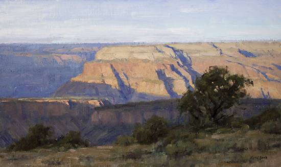 Morning - Near Crazy Jug Point - Oil