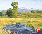 Flat Creek Morning by Keith Bond Oil ~ 10 x 12