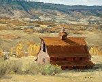 Perry Park Barn by Keith Bond Oil ~ 8 x 10