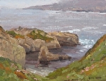 Garrapata State Park by Keith Bond Oil ~ 8 x 10