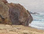 Granite, Sand, and Surf by Keith Bond Oil ~ 8 x 10