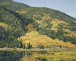 Cottonwood Lake by Keith Bond Oil ~ 16 x 20